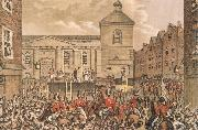 Thomas Street,Dubli the Scene of Rober Emmet-s execution in 1803